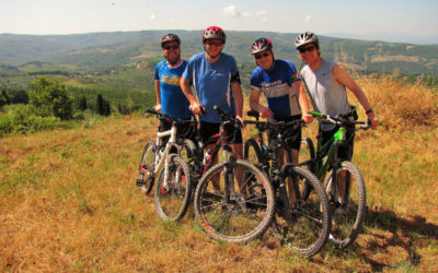 Chianti Classico mountain bike tour