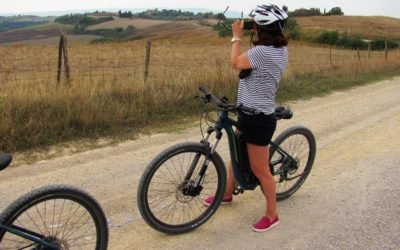 Mountain bike tour Pienza – Montepulciano