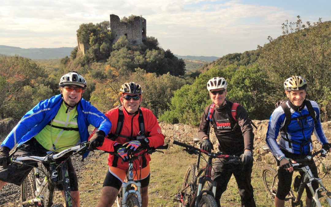 Volterra and Casole advanced bike tour