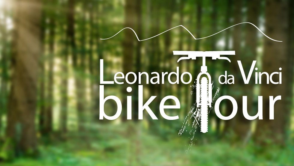 leonardo da vinci bike tour logo