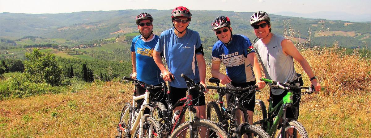 bike tour Panzano and Greve in Chianti