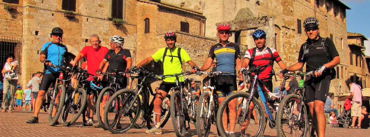 Bike tour around San Gimignano