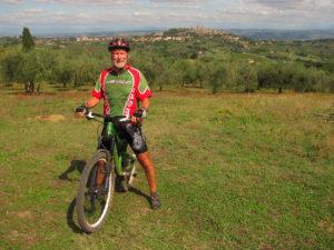 San Gimignano advanced  mountain bike tour