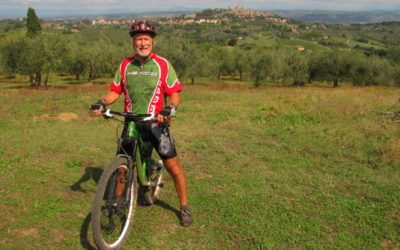 San Gimignano advanced  mountain bike tour