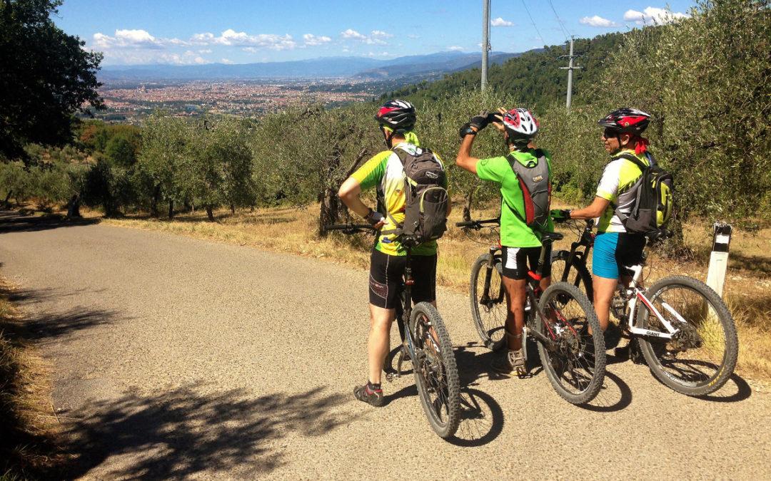 Florence hills e-bike tour