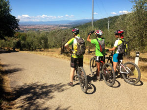 Florence hills mountain bike tour
