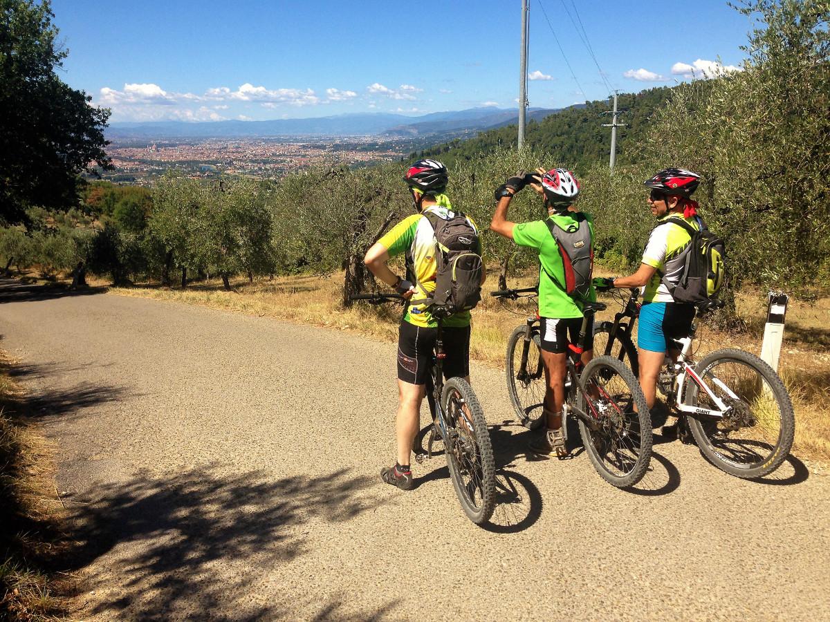 Florence Hills mountain bike tours
