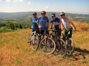 Chianti Classico mountain bike tour