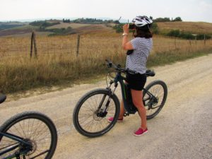 Mountain bike tour Pienza – Montepulciano