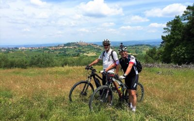 Easy San Gimignano mountain bike tour