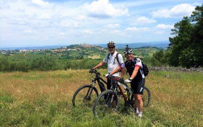 San Gimignano mountain bike tour