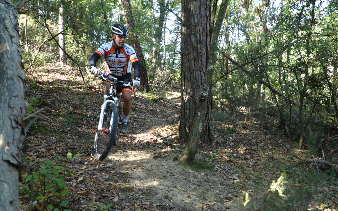 Advanced Chianti Classico mountain bike tour