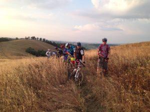 Siena advanced mountain bike tours