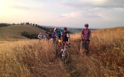 Siena advanced mountain bike tours